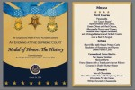 Program & Menu Card